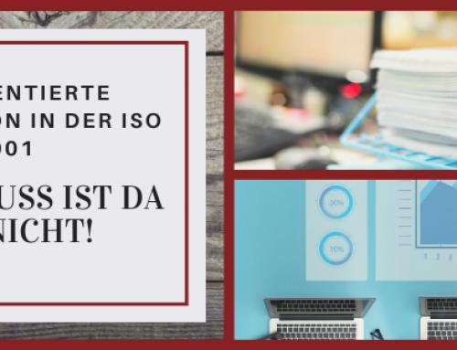 Dokumentierte Information in der ISO 9001